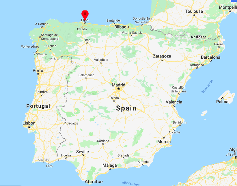 Carte Espagne Gijon.Visiter Gijon Une Ville Coup De Coeur Au Nord De L Espagne